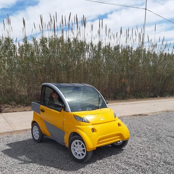 vehiculo electrico impulsado por motor DAFA